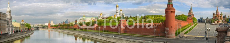 84003177 – Russian Federation – Панорама Кремля Panorama of the Kremlin