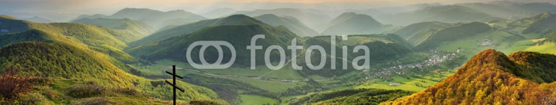 84219783 – Slovakia – Spring forest mountain landscape, Slovakia