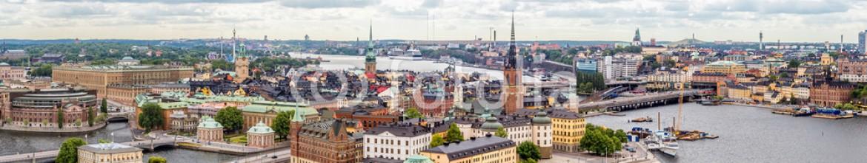 84235992 – Ukraine – Panorama of  Stockholm, Sweden