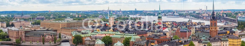 84235995 – Ukraine – Panorama of  Stockholm, Sweden