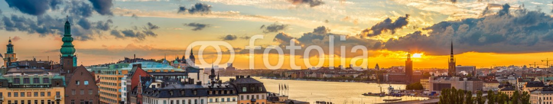 84236013 – Ukraine – Panorama of  Stockholm, Sweden