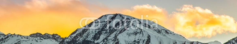 84371061 – Kazakhstan – beautiful sunset over mountains