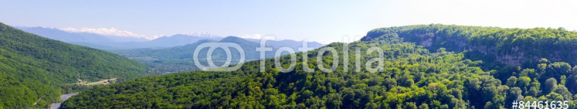 84461635 – Russian Federation – panorama/summer in the mountains