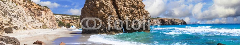 84576064 – Ukraine – beautiful scenic beaches of Greek islands – Fyriplaka on Milos island