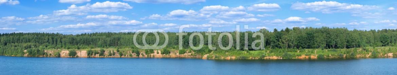 84587748 – Russian Federation – summer lakeside panoramic