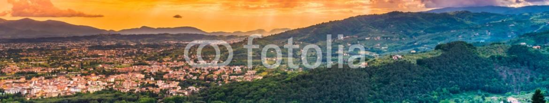 84607429 – Italy – Tuscany panoramic landscape.Montecatini, Pistoia,Tuscany, Italy