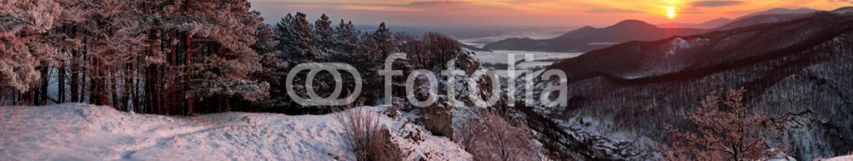 84630907 – Slovakia – Slovakia country landscape panorama at winter