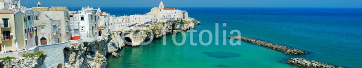 85115908 – Lithuania – Spectacular view of Vieste town