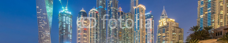 85158428 – Azerbaijan – Dubai – JANUARY 10, 2015: Marina district on January 10 in UAE,