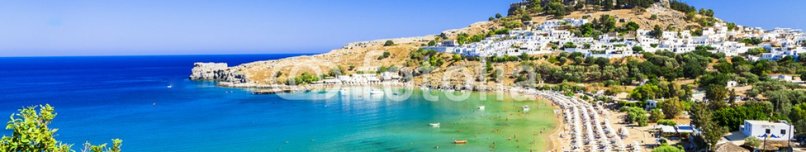 85244419 – Ukraine – Rhodes island, Lindos beach . Greece