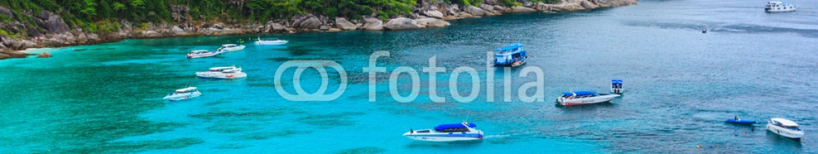 85259850 – Thailand – Similan island gulf and panorama viewpoint in Thailand