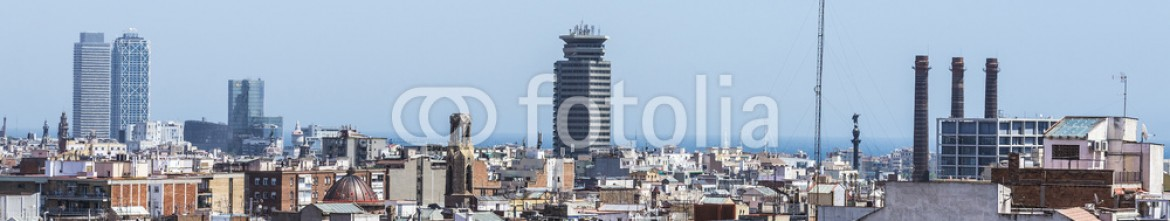 85314480 – Spain – Overview of Barcelona