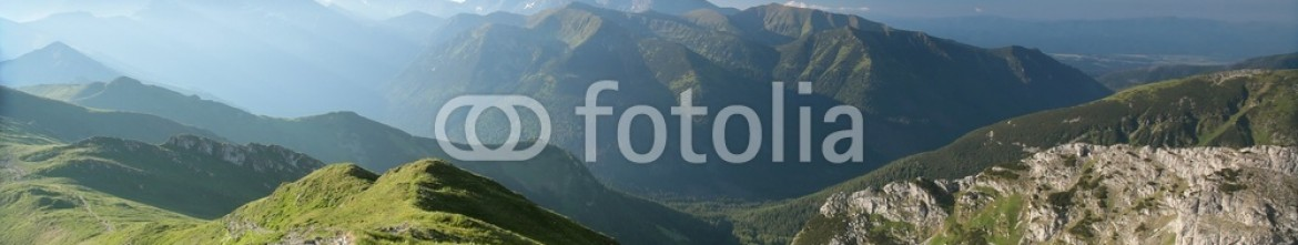 85414825 – Poland – Tatra mountains at dawn