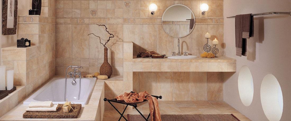 Стеклянные панели в ванную