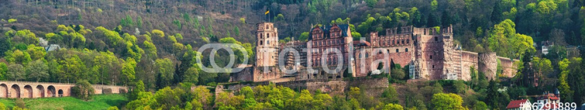 86291889 – Germany – Renaissance style Heidelberg Castle in Germany