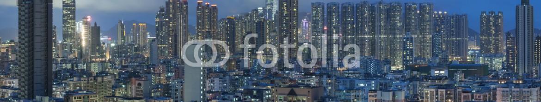 86456808 – Hong-Kong – Panorama of Hong Kong City at night