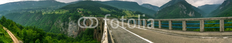 86592165 – Republic of Montenegro – Mountains Bridge