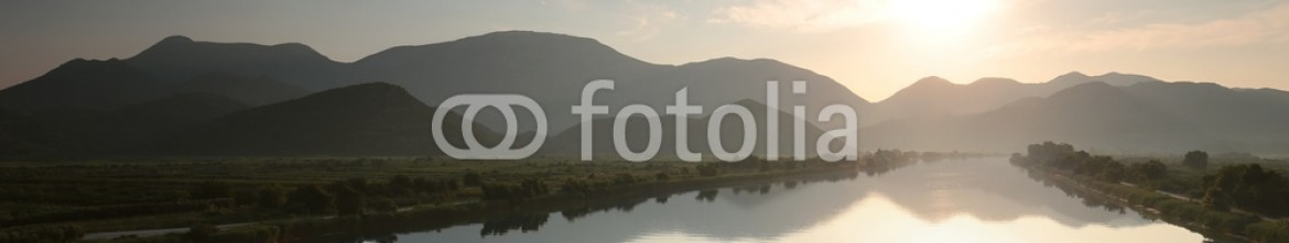 86675821 – Poland – Neretva River in the valley of Dinaric mountains, Croatia