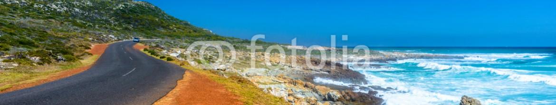 86971667 – South Africa – Road near the Atlantic Ocean Coast