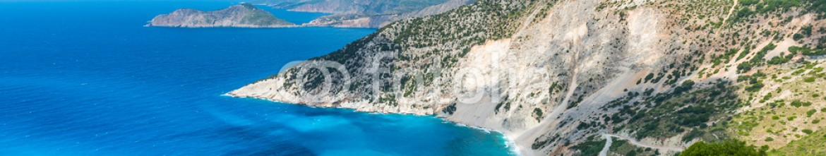 87216114 – Greece – View of Argostoli Town, Kefalonia Island, Ionian Sea, Greece