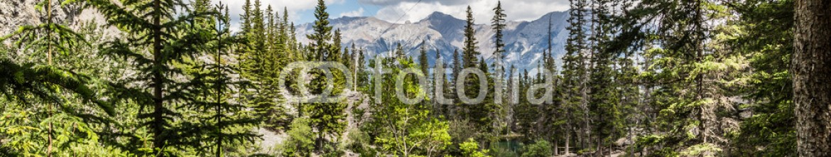 87352375 – Canada – The lake and the mountain