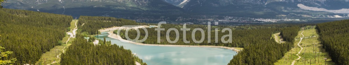 87352606 – Canada – Canmore, Spary Lake from Grassi
