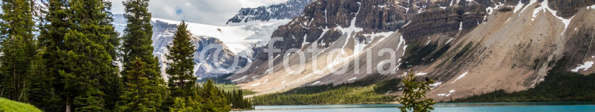 87353936 – Canada – Bow Lake and Bow Glacier