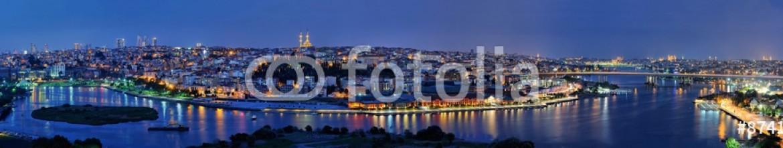 87415070 – Turkey – Golden Horn panorama from Pierre Loti, Istanbul, Turkey