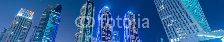 87421404 – Azerbaijan – Dubai – JANUARY 10, 2015: Marina district on January 10 in UAE