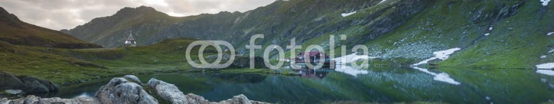 87584576 – Romania – Sunrise over the lake