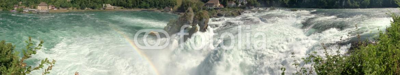 87715641 – Switzerland – rhine waterfalls in Switzerland detail