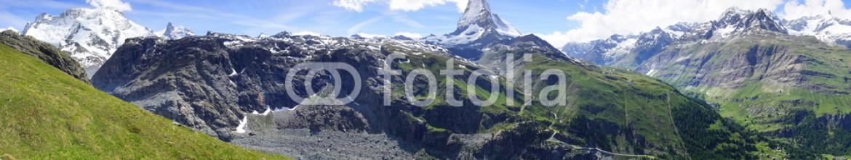 88001658 – Russian Federation – Panorama of Matterhorn, Switzerland.