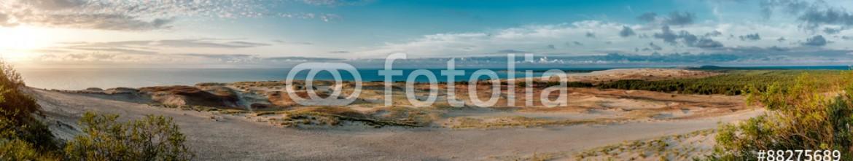 88275689 – Lithuania – Dunes and Baltic Sea. Curonian Spit, Nida, Lithuania.