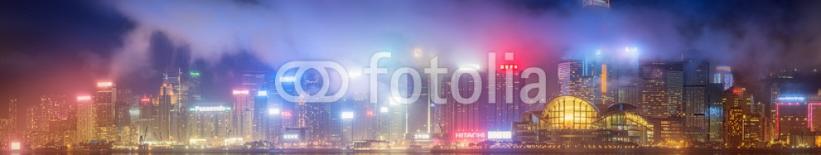 88464286 – Ukraine – Panorama of Hong Kong and Financial district
