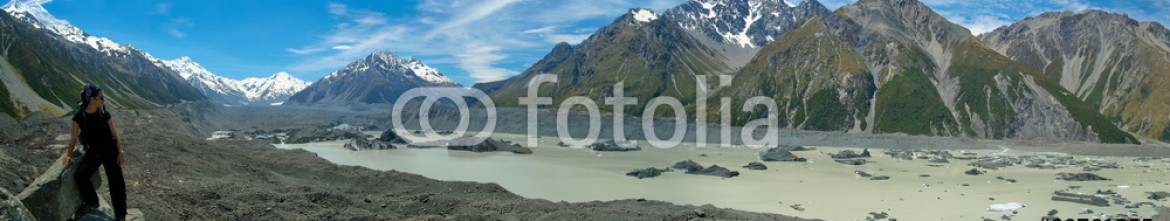 88761355 – Israel – Tasman Glacier, Aoraki Mt. Cook National parek, New Zealand