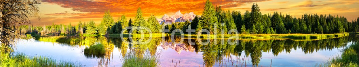 89317009 – United States of America – Schwabacher Landing at Dawn