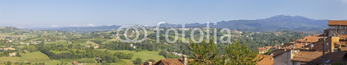 89321498 – Italy – Langhe Hilly Region: viewpoint of Murazzano (Cuneo). Color image