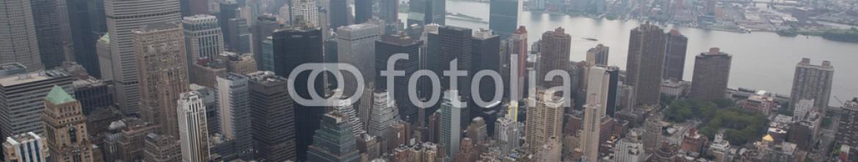 89513988 – United States of America – paesaggi dall'alto della città di new york con grattacieli