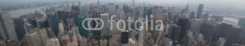 89514012 – United States of America – paesaggi dall'alto della città di new york con grattacieli