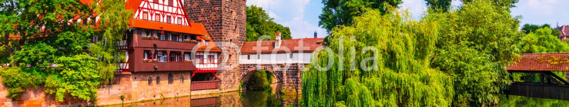 89876751 – Germany – Old Town in Nuremberg, Germany