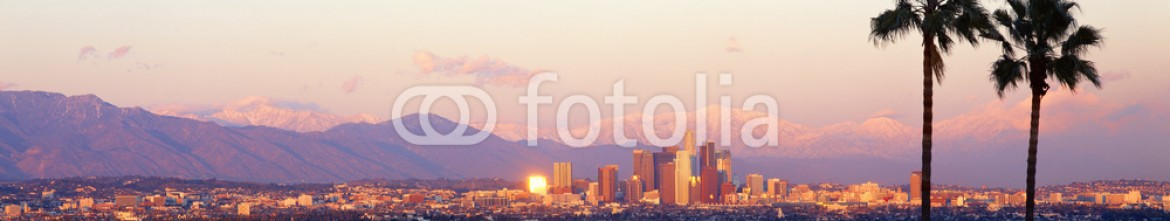 90005684 – United States of America – Downtown Los Angeles, Sunset, California