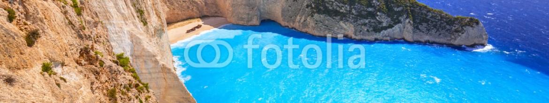 90173893 – Greece – Beautiful Navagio Beach (Shipwreck beach) on Zakynthos Island, Greece