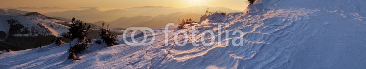 90696099 – Slovakia – Man on top as silhouette in mountain