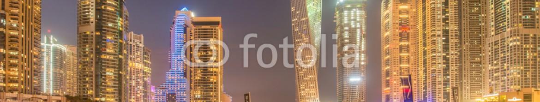 91014747 – Azerbaijan – Dubai – JANUARY 10, 2015: Marina district on January 10 in UAE,
