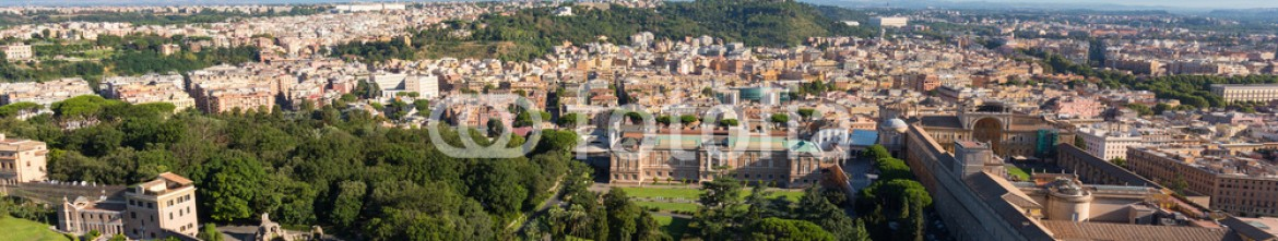 91115374 – Italy – View from St. Peters Cathedral on St. Peter Square, Rome, Italy