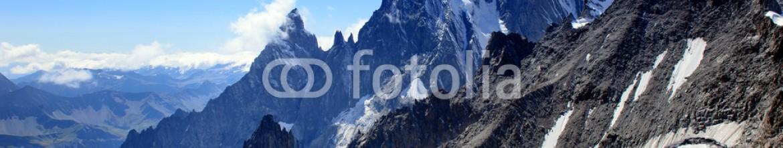 91281875 – Italy – Monte Bianco 4.810 m s.l.m – Aiguille Blanche de Peuterey 4.112 m s.l.m – Aiguille Noire de Peuterey 3.773 m s.l.m