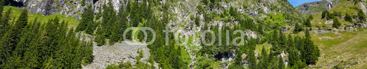 91348391 – Romania – Mountains landscape in a sunny day