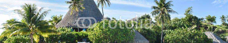 91375010 – French Polynesia – Ingresso albergo isola privata Bora Bora