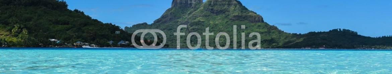 91443400 – French Polynesia – Penorama isola Polinesia Bora Bora