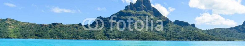 91448002 – French Polynesia – Montagna e mare di Bora Bora